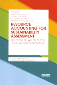 Feriasdhiver.fr Resource Accounting for Sustainability Assessment - The nexus betwenn energy, food, water and land use Image