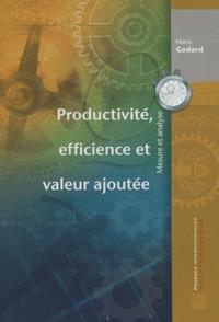 Productivité, efficience et valeur ajoutée - Mesure et Analyse.pdf