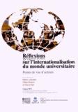Mario Laforest et Gilles Breton - Réflexions sur l'internationalisation du monde universitaire - Points de vue d'acteurs.