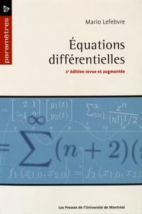 Mario Lefebvre - Equations différentielles.
