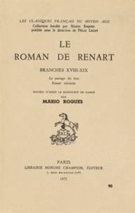 Le roman de Renart - Branches XVIII-XIX, Le partage du lion, Renart médecin.pdf