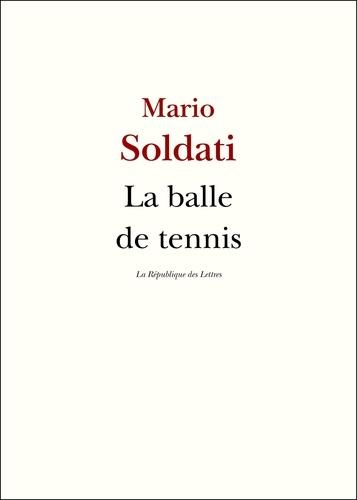 La balle de tennis