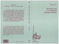 Mario Vitti - Introduction à la poésie de Georges Séféris.