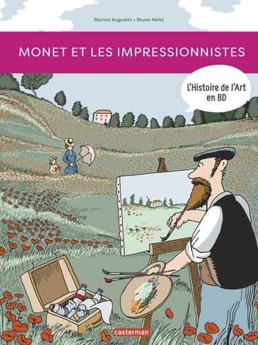 L'Histoire de l'Art en BD  Monet et les impressionnistes