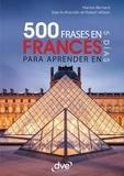 Marion Bernard et Robert Wilson - 500 frases de francés para aprender en 5 días.