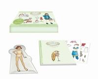 Marion Besnard et  Vivilablonde - Inès la styliste, habille ta poupée - Avec une poupée, un livre et 200 stickers.