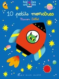 Marion Billet - 10 petits monstres.