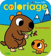 Marion Billet - Coloriage La montagne.