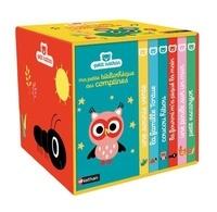 Marion Billet - Ma petite boîte à comptines - Coffret en 6 volumes : Une souris verte ; La famille tortue ; Coucou hibou ; La fourmi m'a piqué la main ; Une poule sur un mur ; Petit escargot.