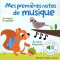 Marion Billet - Mes premières notes de musique - 6 images à regarder, 8 notes à écouter.
