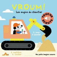 Marion Billet - Vroum ! - Les engins du chantier.