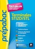 Marion Bruchet et Gérard Sagnard - PREPABAC - Toutes les matières générales - Terminales STI2D - STL - Révision et entrainement.