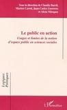 Marion Carrel - Le public en action : usage et limites de la notion d'espace public.