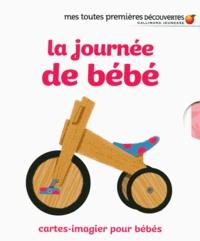 Marion Cocklico - La journée de bébé - Cartes-imagier pour bébés.