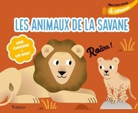 Marion Cocklico - Les animaux de la savane à caresser - Une caresse = un son !.