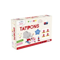 Deedr.fr Tampons - Coffret avec 4 tampons, 2 encres et 1 grande frise Image