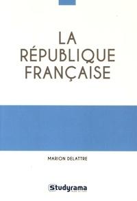 Marion Delattre - La République française.