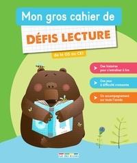 Marion Démoulin et Morgane David - Mon gros cahier de défis lecture de la GS au CE1.