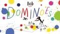 Marion Deuchars - Bob the artist: dominoes.