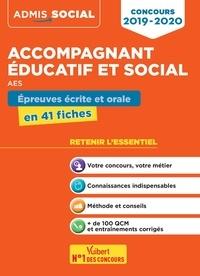 Marion Gauthier - Concours Accompagnant éducatif et social AES - Epreuves écrite et orale en 41 fiches.