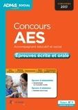 Marion Gauthier et Gwenaëlle Taloc - Concours AES Accompagnant éducatif et social - Epreuves écrite et orale - Entraînement.
