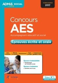 Blackclover.fr Concours AES Accompagnant éducatif et social - Epreuves écrite et orale - Entraînement Image