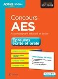 Marion Gauthier et Gwenaëlle Taloc - Concours AES Accompagnant éducatif et social - Epreuves écrite et orale - L'essentiel en 36 fiches.