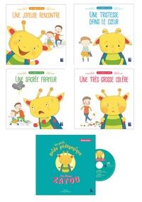 Marion Grimaud Mercier et Delphine Berger-Cornuel - Les albums de Zatou - 4 albums + 1 livret pédagogique. 1 CD audio
