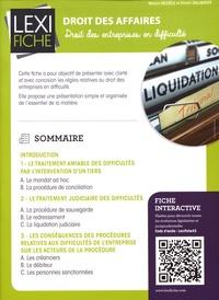 Droit des affaires - Droit des entreprises en difficulté.pdf