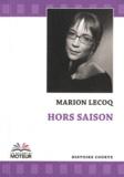 Marion Lecoq - Hors saison.