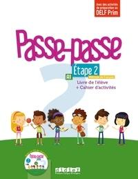 Histoiresdenlire.be Passe-passe 2 Etape 2 A1 - Livre de l'élève + Cahier d'activités Image