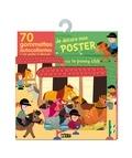 Marion Piffaretti - Je décore mon poster avec le poney-club - 70 gommettes autocollantes + un poster à décorer.