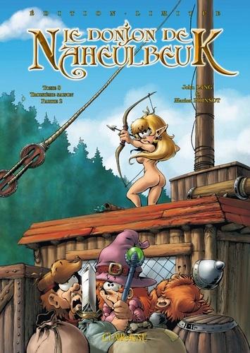 Marion Poinsot et John Lang - Le Donjon de Naheulbeuk Tome 8 : Troisième saison, partie 2.