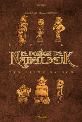 Marion Poinsot et John Lang - Le Donjon de Naheulbeuk Troisième saison : Coffret en 3 volumes - Tomes 7 à 9.