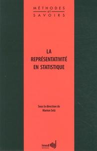 Marion Selz - La représentativité en statistique.