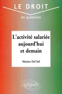 Marion sol Sol - L'activité salariée aujourd'hui et demain.