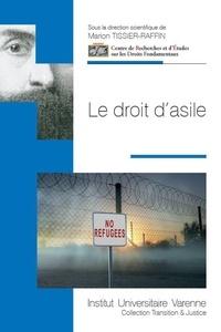 Marion Tissier-Raffin - Le droit d'asile.