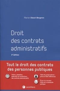 Marion Ubaud-Bergeron - Droit des contrats administratifs.