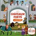 Marion Zoubenko et Charlie Pop - Les châteaux forts - 12 sons à écouter, des volets à soulever.