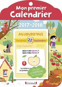 Marion Zoubenko et Olivia Cosneau - Mon premier calendrier.