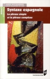 Syntaxe espagnole - La phrase simple et la phrase complexe.pdf