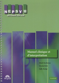 Marit Korkman - NEPSY-II - Manuel clinique et d'interprétation.