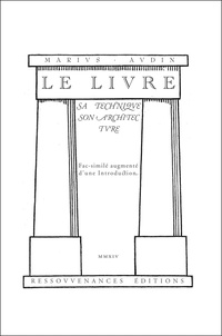 Le livre - Sa technique, son architecture.pdf