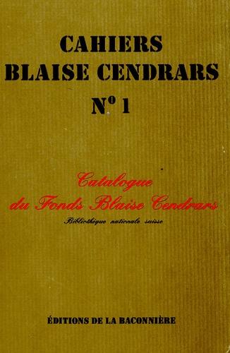 Marius Michaud - Catalogue du fonds Blaise Cendrars de la Bibliothèque nationale suisse.