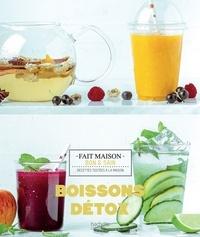 Marjolaine Daguerre - Boissons détox - recettes bonnes et saines testées à la maison !.