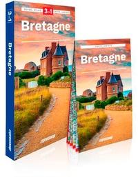 Marjolaine Petit - Bretagne - Guide + Atlas + Carte 1/320 000.