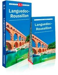 Marjolaine Petit - Languedoc-Roussillon - Guide + Atlas + Carte laminée 1/350 000.
