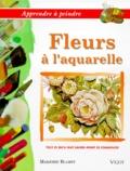 Marjorie Blamey - Fleurs à l'aquarelle.