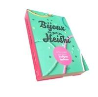 Marjorie Bourgoin - Coffret Bijoux en perles Heishi - Le livre avec 400 perles heishi, 4 m de fil de jade et 5 perles coquillage.