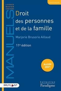 Marjorie Brusorio Aillaud - Droit des personnes et de la famille.